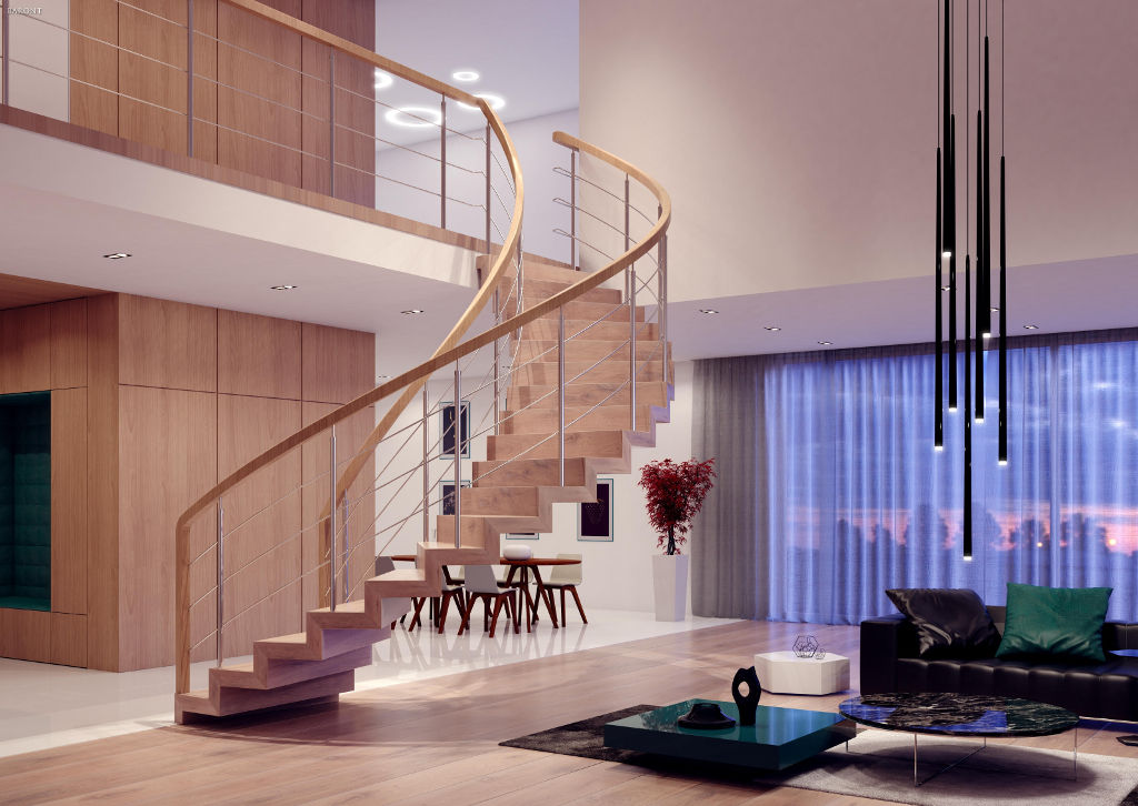Ekskluzywne-schody-drewniane-Baront